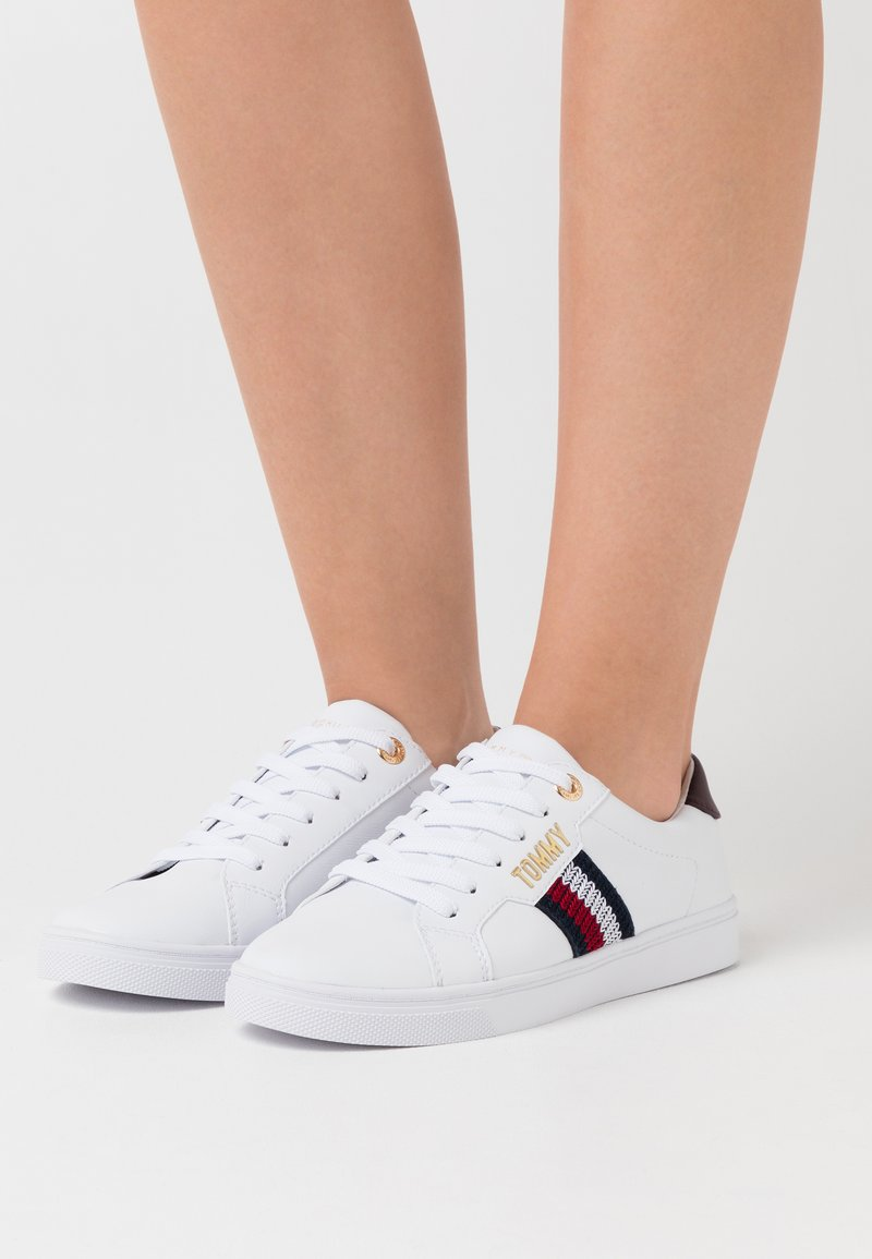 Tommy Hilfiger - LACE UP  - Sneaker low - white
