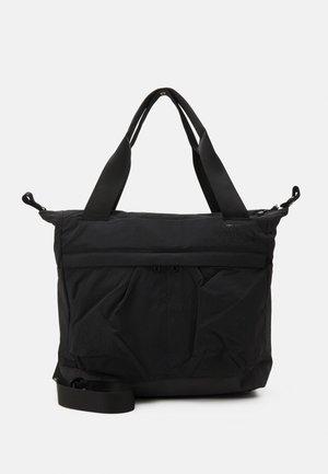 W NEVER STOP TOTE UNISEX - Tote bag - black