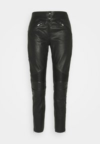 Belstaff - FREYA TROUSER - Leather trousers - black - 5
