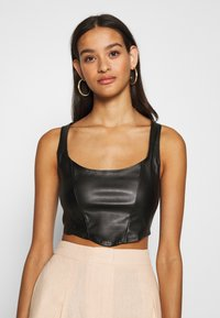 Nly by Nelly - LOOK CORSET - Top - black - 0