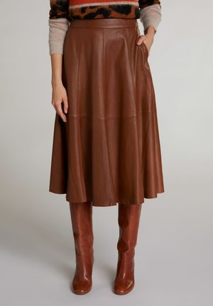 A-line skirt - light brown