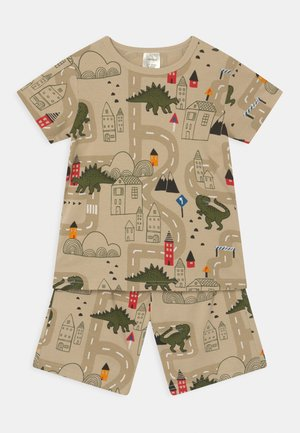 DINO CITY TRAFFIC - Pyjama set - light beige