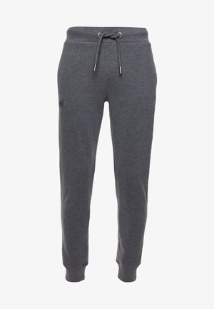 Tracksuit bottoms - rich charcoal marl
