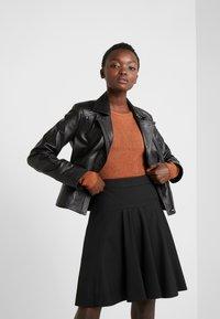 HUGO - RISELLA - Mini skirt - black - 3