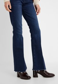 Mother - THE WEEKENDER FRAY  - Relaxed fit jeans - dark blue - 3