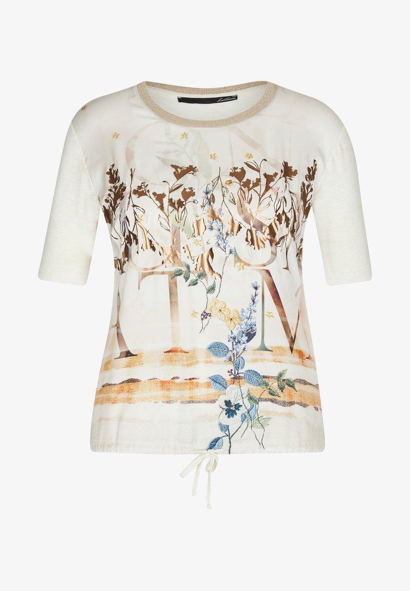 LeComte - Print T-shirt - beige