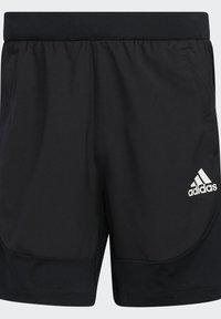 adidas Performance - Korte sportsbukser - black - 7