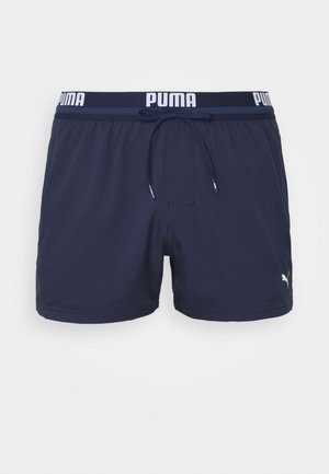 SWIM MEN LOGO SHORT LENGTH - Swimming shorts - navy
