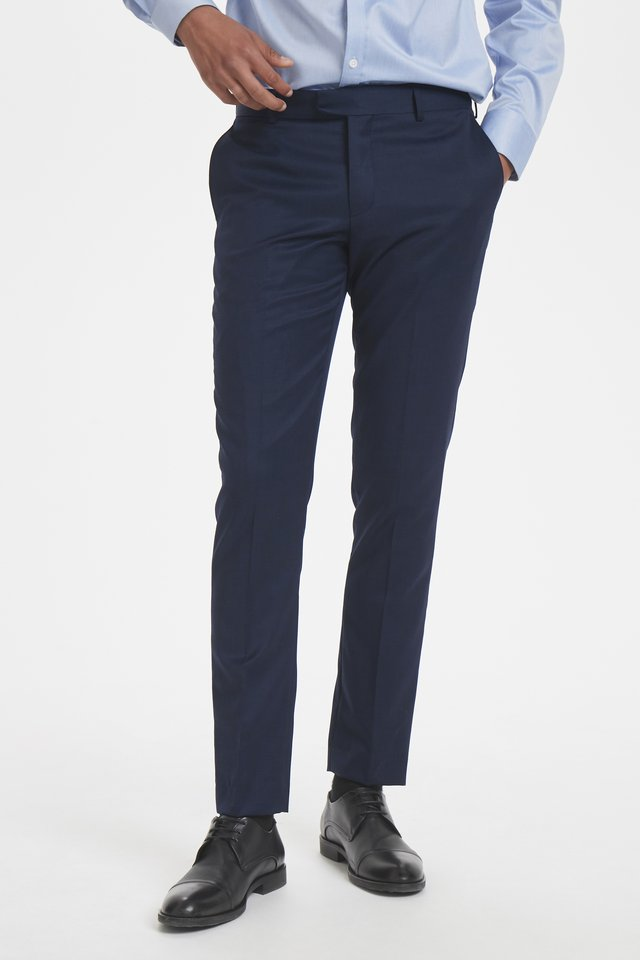 LAS - Suit trousers - dark navy