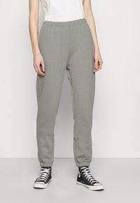 Nly by Nelly - COZY PANTS - Tracksuit bottoms - gray/blue - 0