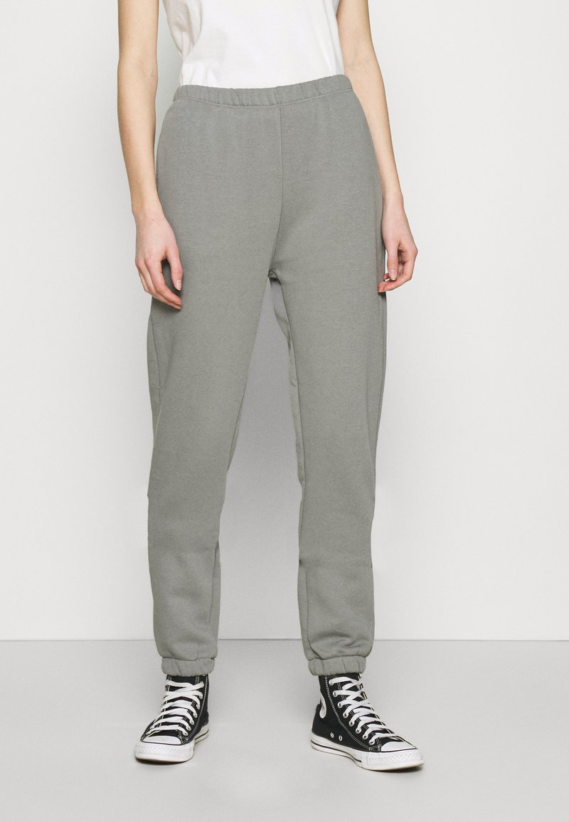 Nly by Nelly - COZY PANTS - Tracksuit bottoms - gray/blue