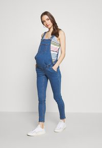 Missguided Maternity - DUNAGREE - Dungarees - blue - 0