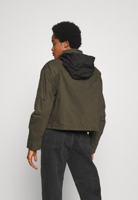 Superdry - BORA JACKET - Denim jacket - bungee cord - 3
