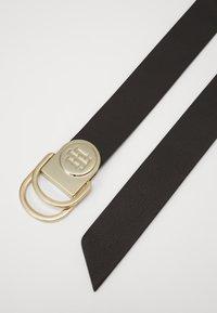 Tommy Hilfiger - RING BELT - Cinturón - black - 1