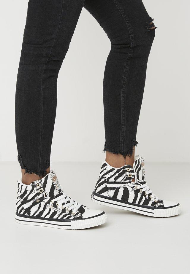 DEE - Baskets montantes - zebra
