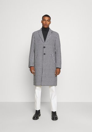 HENNESSEY HOUNDSTOOTH COAT - Classic coat - white