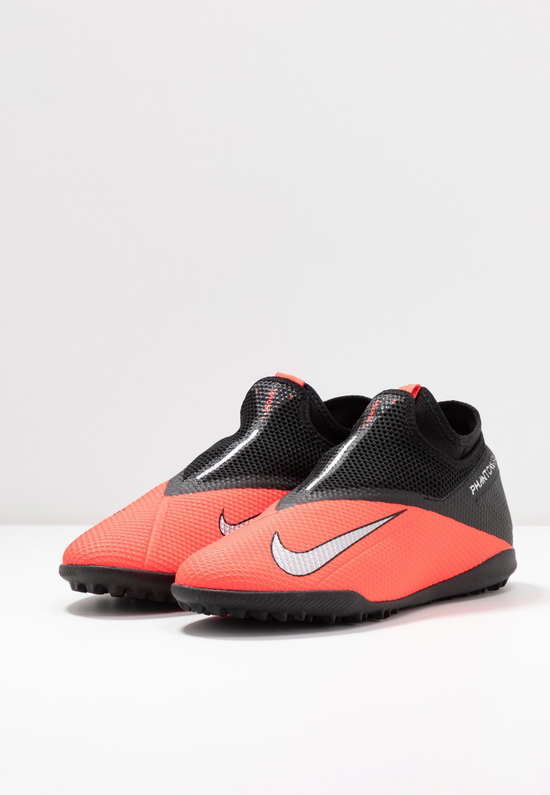 Nike Performance PHANTOM VISION 2 ACADEMY DF TF - Fußballschuh Multinocken - laser crimson/metallic silver/black/rot - Herrenschuhe 0VHCa