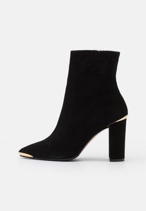 CAMELIE - Kotníková obuv na vysokém podpatku - nero