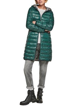 Wintermantel - grün