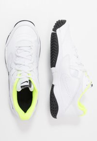 Nike Performance - COURT LITE 2 - Multicourt tennis shoes - white/black/volt