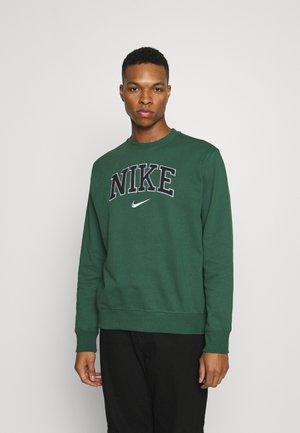 RETRO CREW - Sweatshirts - noble green