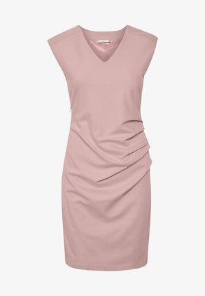 INDIA V NECK DRESS - Robe fourreau - Candy Pink