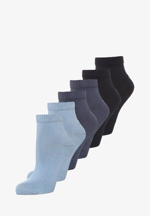 6 PACK - Calcetines - smoked blue/stone/navy