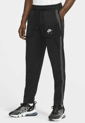 Tracksuit bottoms - black/dark smoke grey/white/white