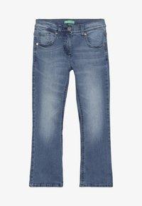 Benetton - TROUSERS - Bootcut jeans - light-blue denim - 2