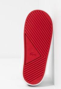 Lacoste - AMPTHILL  - Sneaker high - white/navy/red - 5