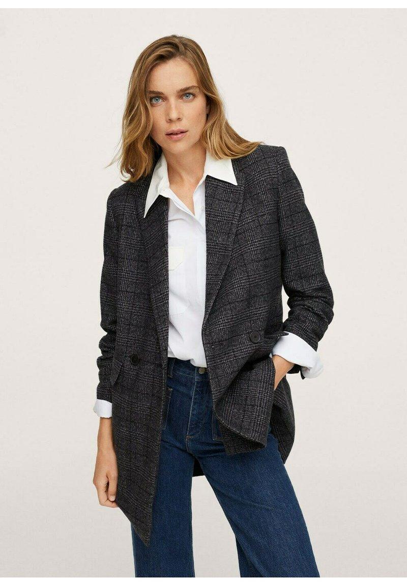 Mango - DALI - Short coat - grijs