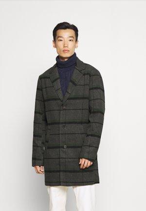 TAVE CHECK COAT - Classic coat - black
