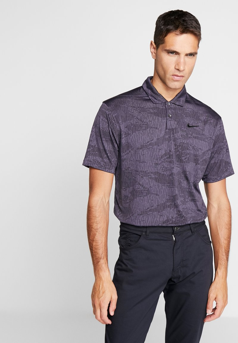 Nike Golf - DRY VAPOR CAMO - Funkční triko - black/gridiron