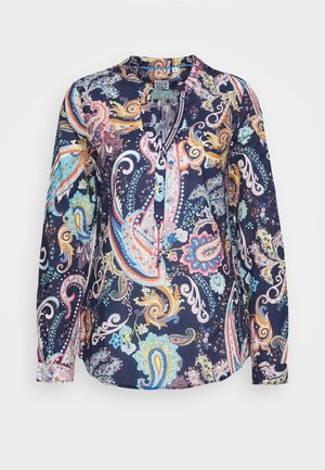 Blouse - navy/multicolour