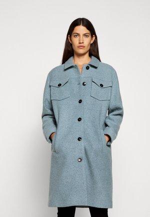 RITA - Classic coat - archive blue