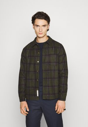 FLANNEL - Shirt - army