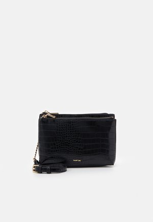 CROSSBODY BAG PEONY - Schoudertas - black
