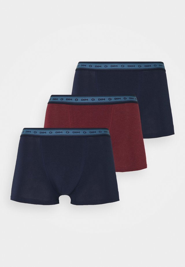 BIO BOXER 3 PACK - Boxerky - blue/red/blue