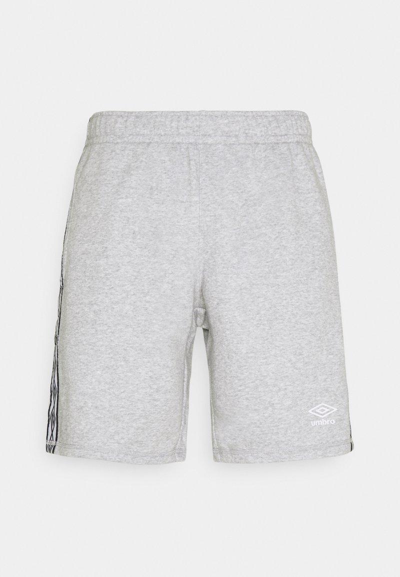 Umbro - TAPED SHORT LOOPBACK - Sports shorts - grey marl