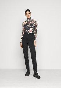 Even&Odd Tall - Long sleeved top - black - 1