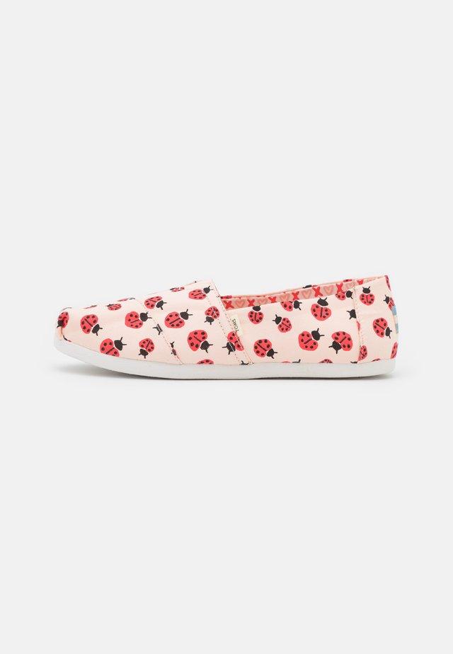 ALPARGATA VEGAN - Nazouvací boty - pink