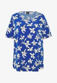 Persona by Marina Rinaldi - BARONE - Print T-shirt - bluette - 4