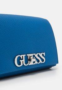 Guess - UPTOWN CHIC MINI XBODY FLAP - Across body bag - blue - 4