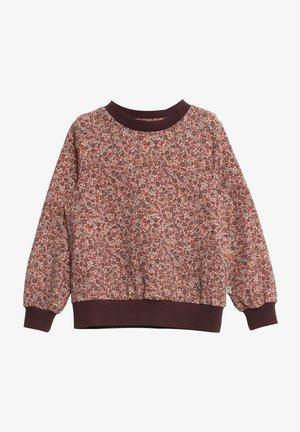 Sweatshirt - misty rose flowers