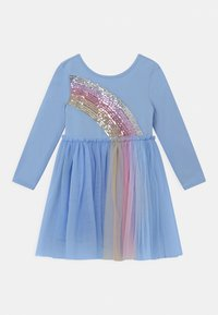 Cotton On - IRIS LONG SLEEVE - Jersey dress - dusk blue - 0