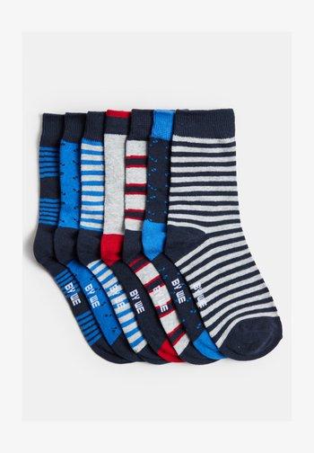 JONGENS 7-PACK - Socks - blue