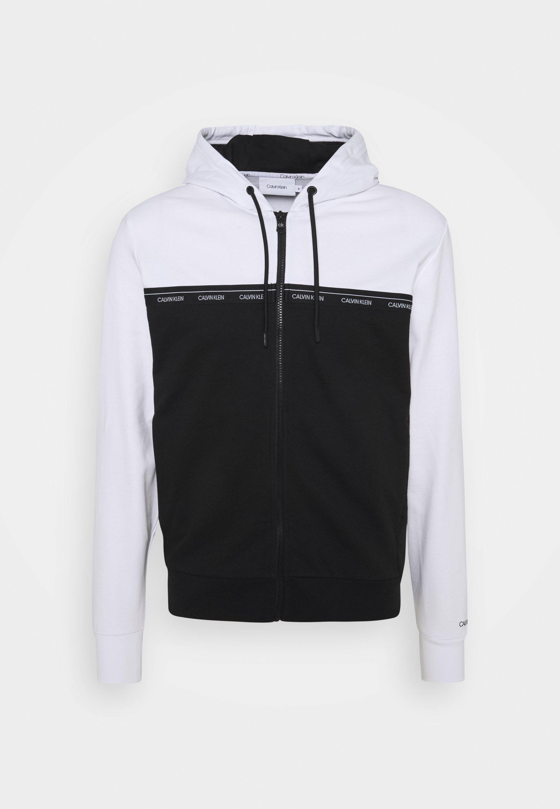 Men LOGO STRIPE ZIP THROUGH HOODIE - Zip-up sweatshirt