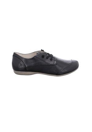 FIONA  - Casual lace-ups - schwarz