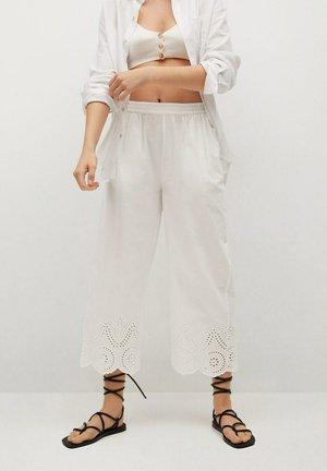 Trousers - blanco