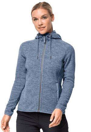 PATAN - Fleece jacket - bluewash